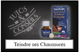 Teindre ses chaussres