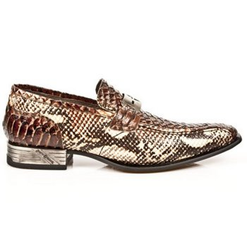 Chaussure reptile Homme