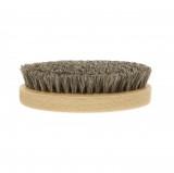 Brosse ovale à lustrer le cuir Saphir Poils Blancs