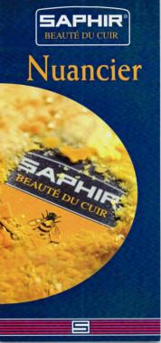 Nuancier des produits Saphir