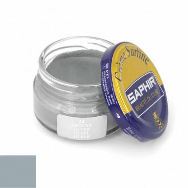 Crème Surfine Saphir - Cirage Argent