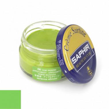 Crème Surfine Saphir - Cirage Vert Pomme