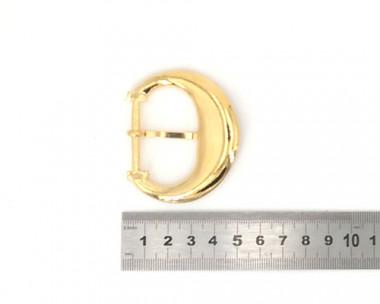 Boucle de ceinture 30mm - Ardillon Doré 3