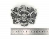 Boucle de ceinture - Crâne Pirate