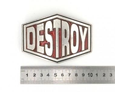 Boucle de ceinture - Destroy