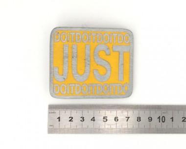 Boucle de ceinture - Just Do It