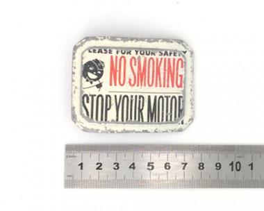 Boucle de ceinture - No Smoking