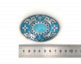 Boucle de ceinture - Ceinturon Bleu