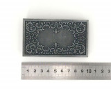 Boucle de ceinture - Ceinturon Rectangle orné