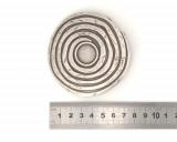 Boucle de ceinture - Ceinturon Rosace Argent
