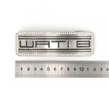 Boucle de ceinture - WATI B Strass