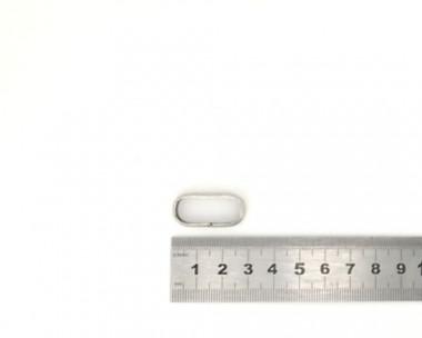Passant Argent 25mm