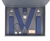 Bretelles Homme - Bleu Marine