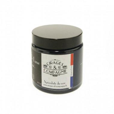 Cirage de Luxe Bleu Marine pour cuir 100 ml