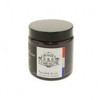 Cirage de Luxe Marron Foncé pour cuir 100 ml