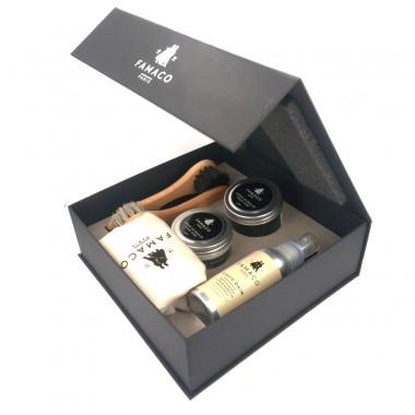 Famaco Box Grand Modèle, kit de cirage