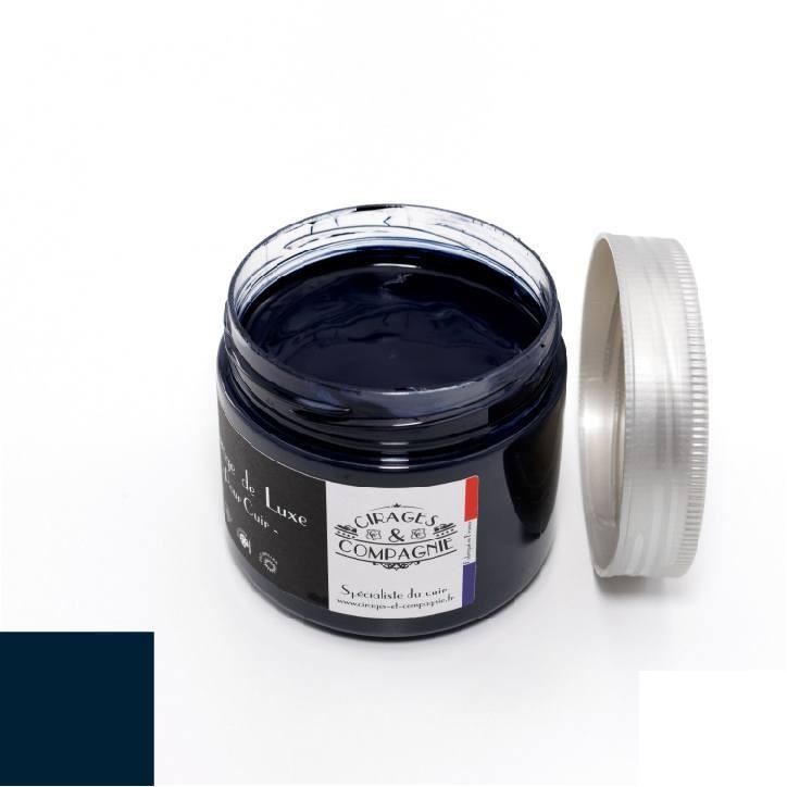 cire bleu marine 300 ml pour r nover les rev tements en cuir si ges chaussures. Black Bedroom Furniture Sets. Home Design Ideas