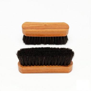 Brosse à reluire prestige Bubenga 12 cm Noir