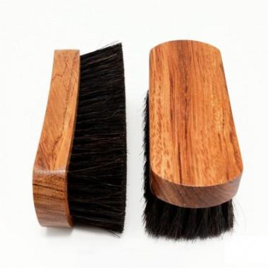 Brosse à reluire prestige Bubenga 14,5 cm Noir