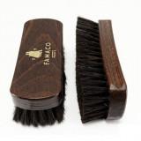 Brosse à reluire Luxe 14 cm Famaco poils noirs