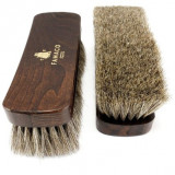 Brosse à reluire Luxe 21 cm Famaco poils blancs