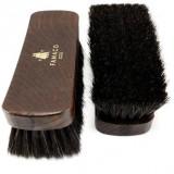 Brosse à reluire Luxe 21 cm Famaco poils noirs