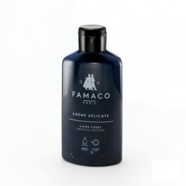 Crème Délicate Famaco, Bleu Marine. Lait nettoyant et colorant