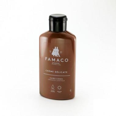 Crème Délicate Famaco, Marron Moyen. Lait nettoyant et colorant