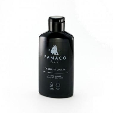 Crème Délicate Famaco, Noir. Lait nettoyant et colorant