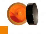 Cirage teintant mandarine pour cuir Famaco
