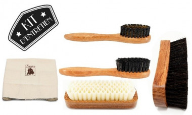 Kit de brosses à chaussures prestiges