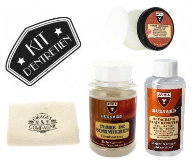 Kit de nettoyage pour cuir Avel