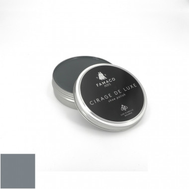 Pâte cirage de luxe gris Famaco