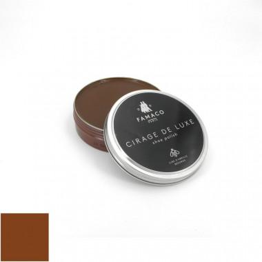 Pâte cirage de luxe marron clair Famaco