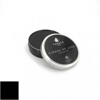 Pâte cirage de luxe noir Famaco