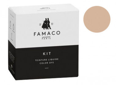 Kit de teinture Naturel pour cuir Famaco