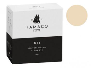 Kit de teinture Champagne pour cuir Famaco
