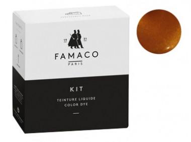 Kit de teinture Cuivre pour cuir Famaco