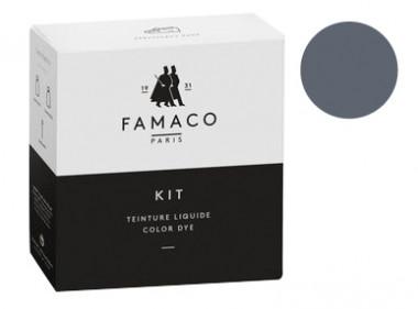 Kit de teinture Gris pour cuir Famaco