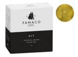 Kit de teinture Or pour cuir Famaco