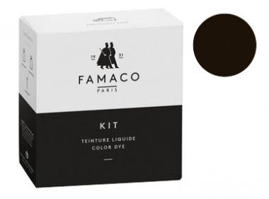 Kit de teinture marron vison pour cuir Famaco