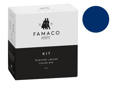 Kit de teinture Bleu Electrique pour cuir