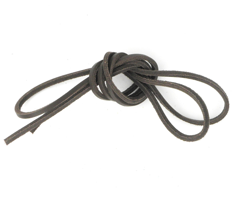 b1147ac6eba3 Des lacets marron foncé d une longueur de 120 cm pour des chaussures ...